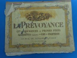 """Sous-main En Carton """"La Prévoyance"""" - Other Collections"""