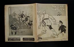 BULGAR NUMERO 94 Anno III 10 Ottobre 1915 Golia Moroni Scarpelli Nirsoli - Libri, Riviste, Fumetti