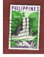 FILIPPINE (PHILIPPINES) - SG 837 -  1959  TOURISM: MARIA CRISTINA FALLS   - USED ° - Filippine