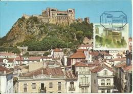 Carte Maximum - Portugal - Leiria - Castelo - Cartes-maximum (CM)