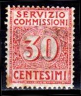 Italia-A-0639: SERVIZIO COMMISSIONI 1913 (++) MNH - Colla Bruna, Piccole Ossidazioni E Leggera - Senza Difetti Occulti. - 1900-44 Victor Emmanuel III.