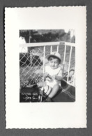 ENFANTS - ENFANT - FILLE - FILLETTE - LITTLE GIRL - BAMBINA - BAMBINO - PHOTO CM. 6X8,5 - Persone Anonimi