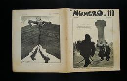 NUMERO 110 Anno IV 30 Gennaio 1916 Torino Golia Nasica Nasica Moroni - Non Classificati