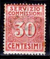 Italia-A-0640: SERVIZIO COMMISSIONI 1913 (++) MNH - Colla Bruna, Piccole Ossidazioni - Senza Difetti Occulti. - 1900-44 Victor Emmanuel III.