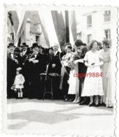 PRESIDENT  LEBRUN  :  ( 12 )  MUR  DE  BARREZ  Et  INAUGURATION  à  ( 15 )  BREZON  En  1933  .  . - Célébrités