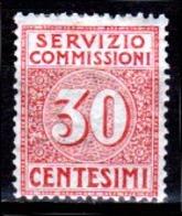 Italia-A-0641: SERVIZIO COMMISSIONI 1913 (++) MNH - Senza Difetti Occulti. - 1900-44 Victor Emmanuel III.