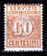 Italia-A-0642: SERVIZIO COMMISSIONI 1913 (++) MNH - Senza Difetti Occulti. - 1900-44 Victor Emmanuel III.