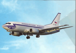 Boeing B737 CSA Czech Airlines B 737 OK-XGB Airways ISSUE - 1946-....: Era Moderna