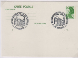 DARNEY (Vosges) Bicentenaire De La Collégiale  29 30 Avril 1989 - Marcofilie (Brieven)