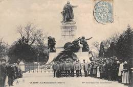 Carte Postale Ancienne - Cahors, Le Monument Gambetta - Cahors