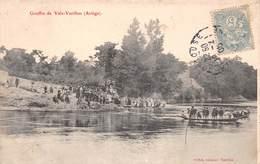 Carte Postale Ancienne - Gouffre De Vals-Varilhes (Ariège) - Varilhes