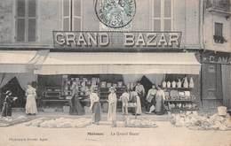 Carte Postale Ancienne - Moissac, Le Grand Bazard - Moissac