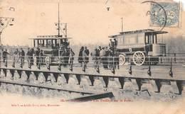Carte Postale Ancienne - Montauban Les Trolleys Sur Le Pont - Montauban