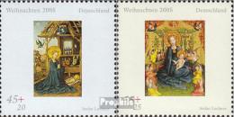 BRD 2492-2493 (kompl.Ausg.) Postfrisch 2005 Weihnachten - BRD