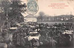 Carte Postale Ancienne - Saint Paul D'Espis, La Foire Aux Bestiaux - Saint-Céré