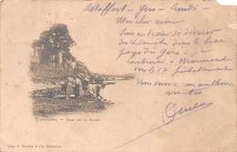 Carte Postale Ancienne - Tonneins, Quai De La Barre - Tonneins
