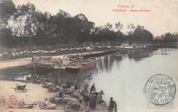 Carte Postale Ancienne - Valence, Le Bassin Du Canal - Valence