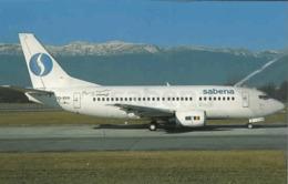 Sabena NA Airlines Belgio B737 OO-SYH At Cointrin B 737 - 1946-....: Era Moderna
