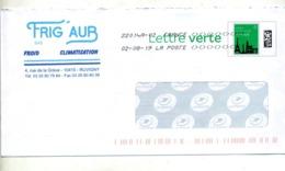 Pap Monument Paris Flamme Chiffree Sous Code Symbole Inegalité Entete Climatisation  Ruvigny - PAP:  Varia (1995-...)