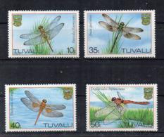 TUVALU - 1983 - Libellule - 4 Valori - Nuovi - Linguellati - (FDC16984) - Tuvalu
