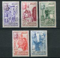 14770 MAROC N° 369/73 **  Série  Lutte Contre L'Analphabétisme    1956    TB/TTB - Maroc (1956-...)