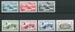 14774 MAROC N° 383/5, 386/8, 389 ** Exposition Universelle, UNESCO, Entraide Nationale   1958  TB/TTB - Maroc (1956-...)