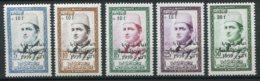 14777 MAROC  N° 397/401 ** Série  Au Profit Des Victimes Des Huiles Frelatées   1959  TB/TTB - Maroc (1956-...)