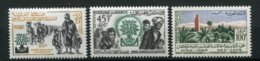 14778 MAROC N° 402/3,404**  Année Mondiale Du Réfugié, 900éme Anniversaire De La Fondation De Marrakech 1960  TB/TTB - Maroc (1956-...)