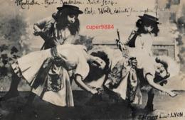 34   MONTPELLIER  :  CARTE  PHOTO  THEATRE  ANDERSON  1904  . - Montpellier