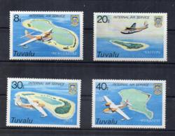 TUVALU - 1979 - Inaugurazione Servizio Aereo Tra Le Isole - 4 Valori - Nuovi - Linguellati - (FDC16985) - Tuvalu