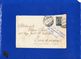 """##(DAN199)-Italia 1916-Busta  Da Grado(Venezia), Timbro """"Visto Per La Censura Dal Comandante Della Dif.Mar. Grado"""" - 1900-44 Vittorio Emanuele III"""