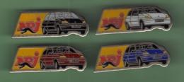 RENAULT CLIO *** NRJ *** Lot De 4 Pin's Differents *** 1051 (21) - Renault
