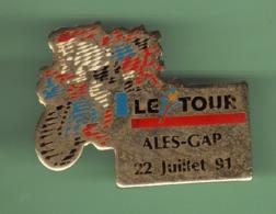 CYCLISME *** LE TOUR 91 *** ALES-GAP 22 JUILLET 91 *** 1050 (21) - Cyclisme