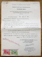Directie Voor De Arbeidsbescherming, Firma Cocquyt-De Ceulener In Exploitatie Gebracht, Gent 1943 - Verzamelingen