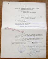 Stad Gent, Toelating Voor Het Inrichten Eener Machinale Houtbewerking Firma Cocquyt-De Ceulener 1943 - Verzamelingen