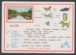 TB Cpsm Fantaisie 49 Avrillé - Souligner Le Mot Désiré -  TBE - Maine Et Loire - Autres Communes