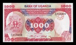 Uganda 1000 Shillings 1986 Pick 26 SC UNC - Uganda