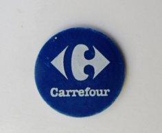 Jeton De Caddie Plastique CARREFOUR - Gettoni Di Carrelli
