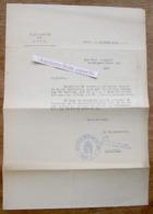 Stadsbestuur Gent, Toelating Om Verder Stroom Te Mogen Gebruiken Voor Firma Cocquyt 1944 - Verzamelingen