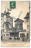 Cpa Paris - Montmartre - Le Moulin Rouge - (Cabaret) - Otros