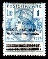 Italia-A-0652: ENTI PARASTATALI 1924 (+) LH - Senza Difetti Occulti. - 1900-44 Vittorio Emanuele III
