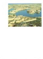 Grande Cpm MALTE - MALTA - Vue Aerienne DOCKYARD CREEK - Autobus Bateau - Malta