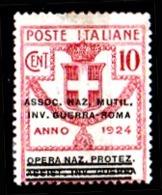 Italia-A-0654: ENTI PARASTATALI 1924 (+) LH - Senza Difetti Occulti. - 1900-44 Vittorio Emanuele III