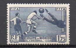 - FRANCE N° 396 Neuf ** MNH - 1 F. 75 Outremer Coupe Du Monde De Football 1938 - Cote 35 EUR - - France