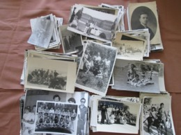 GRAND LOT, 380+ PHOTOS ORGINALES, 1KG, PHOTOS DE GROUPE, MAILLOT DE BAIN, PORTRAITS - Anonieme Personen