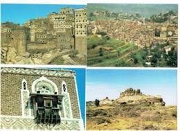 Lot 7 Cpm - YÉMEN - Al Hajjarah Sana'a Ghulat Bani Muslem IBB YEMENI HAJJAH - Yémen