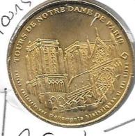 Jeton Touristique 75004 Tours Notre Dame 2001 - Monnaie De Paris