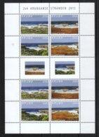 Aruba 2015**, Strände (Bogen), Kaktus Cereus Sp. / Aruba 2015, MNH, Beaches (Sheet), Cactus Cereus Sp. - Sukkulenten