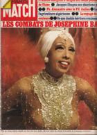 Paris Match - Les Combats De Joséphine Baker - 26 Avril 1975 - Zeitungen
