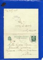 ##(DAN199)-Italia 1944-Biglietto Postale Cent.25 Da Navacchio Per Casciana Alta Per Usigliano (Pisa), Segno Di Tassa - 4. 1944-45 Sozialrepublik